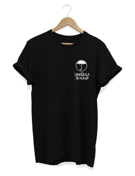 the umbrella academy black t-shirt