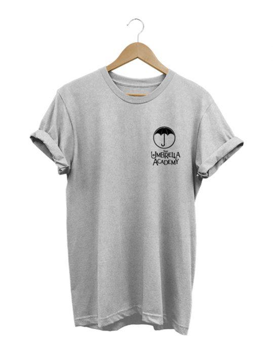 the umbrella academy grey t-shirt