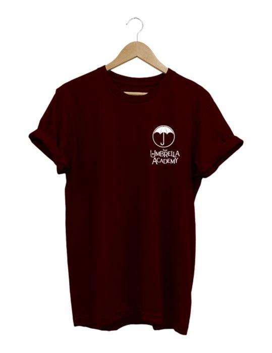 the umbrella academy maroon t-shirt