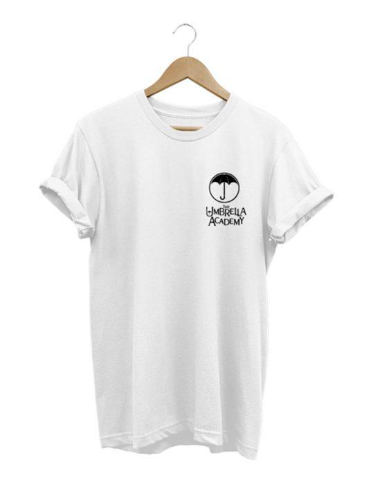 the umbrella academy white t-shirt