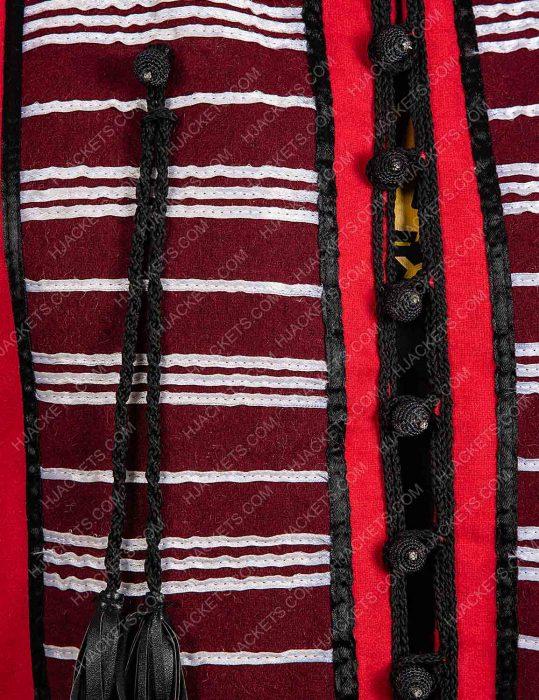 Aladdin Mena Massoud Red Vest