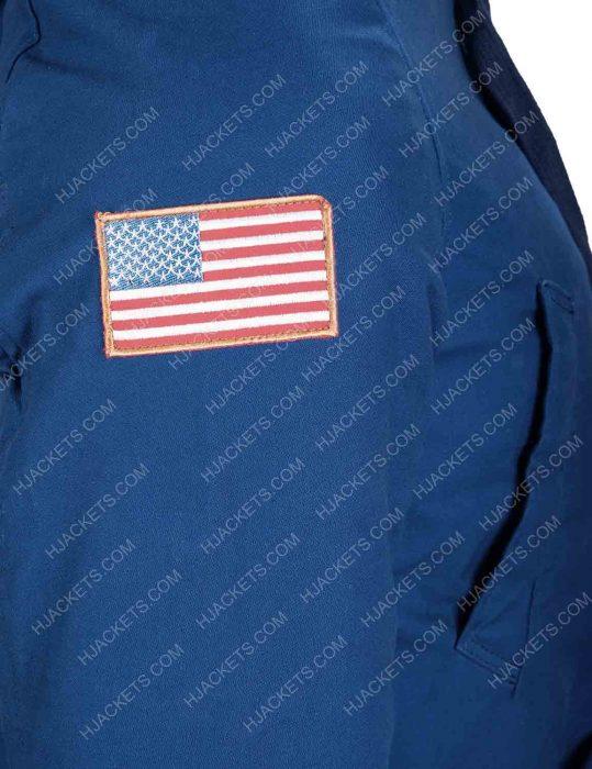 David Harbour Stranger Things Jim Hopper Blue Jacket