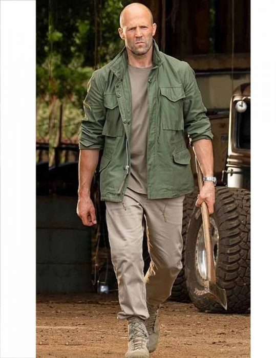 Fast And Furious Deckard Shaw Jacket