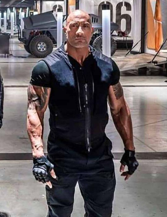 Fast & Furious Hobbs & Shaw Dwayne Johnson Vest