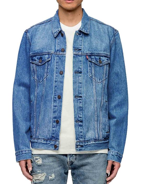 Fast & Furious Presents Hobbs & Shaw Luke Hobbs Denim Jacket
