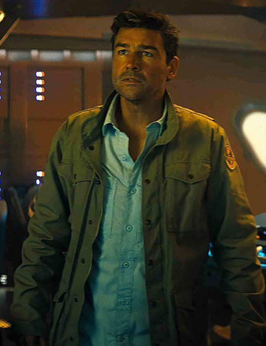 Godzilla King of the Monsters Mark Russell Jacket