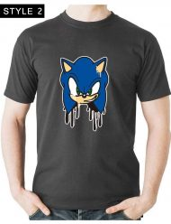 Sonic the Hedgehog Black T-shirt