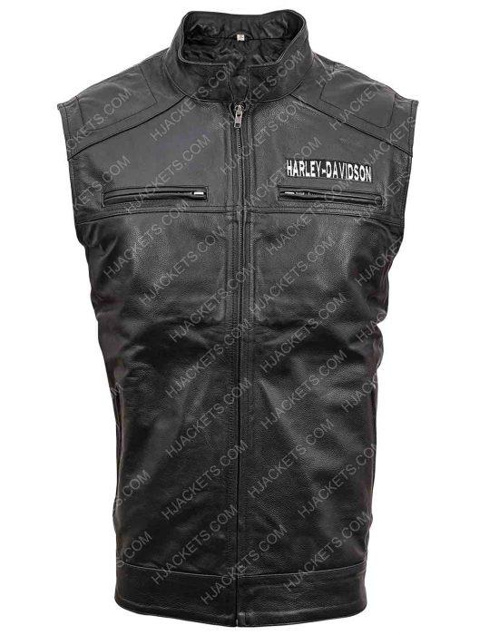 Harley Davidson Black Vest