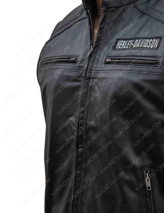 Harley Davidson Moto Leather Vest