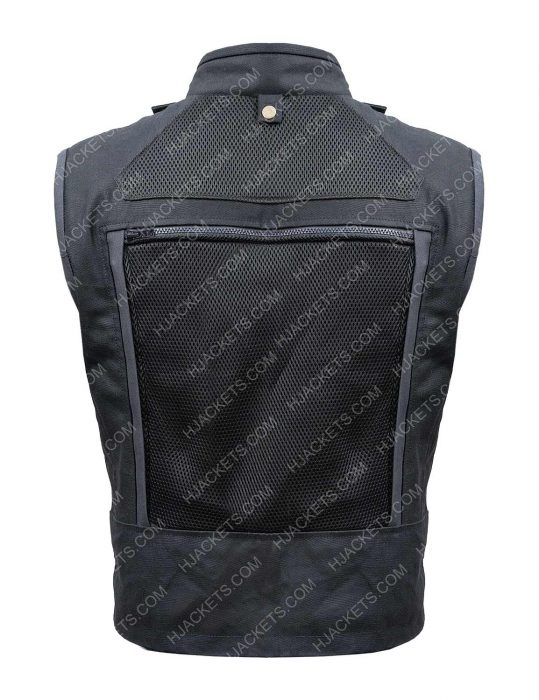 Hobbs And Shaw Dwayne Johnson Black Cotton Vest