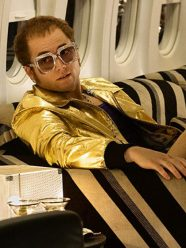 Rocketman Taron Egerton Golden Jacket
