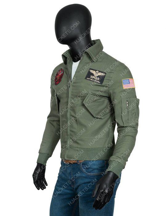 Tom Cruise Maverick Top Gun 2 MA-1 Bomber Jacket