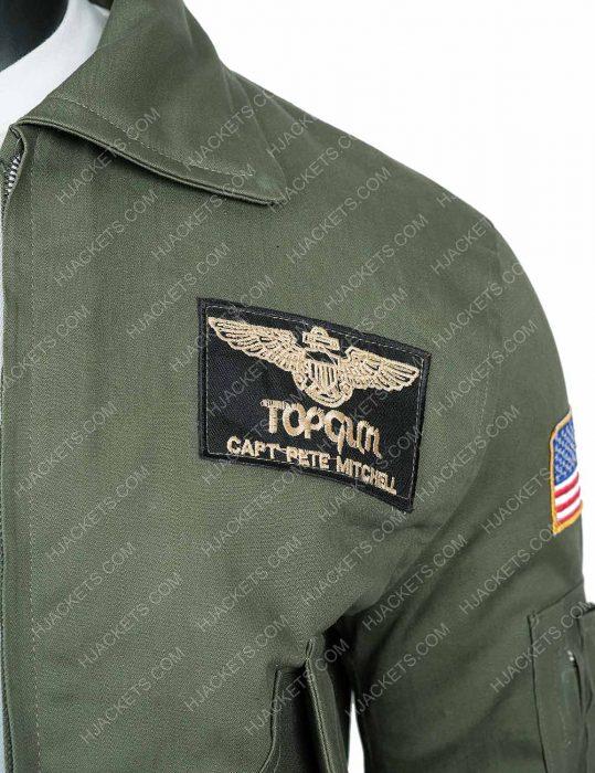 Top Gun 2 Maverick Tom Cruise Jacket