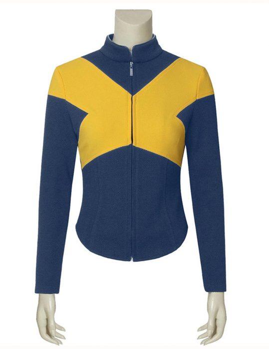 X-Men Dark Phoenix Team Blue and yellow Jacket