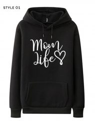 mothers day black hoodies