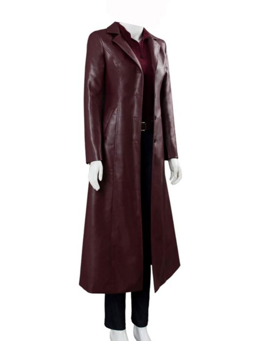 x men dark phoenix jean grey red coat