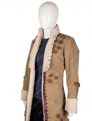 Cara Delevingne Carnival Row Coat