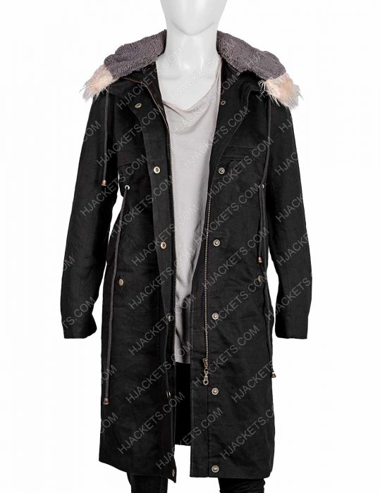 Killing Eve Eve Polastri Black Coat