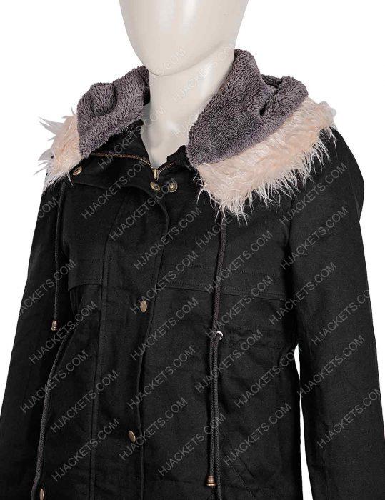 Killing Eve Eve Polastri Fur Cotton Coat