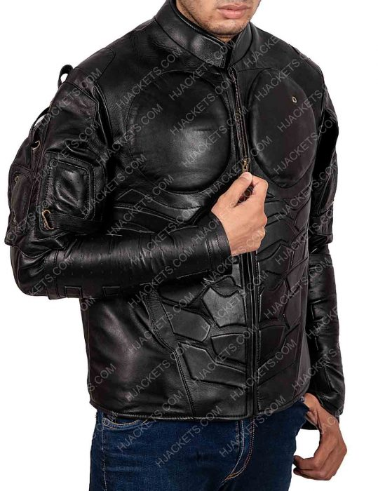 Rendel Ramo Black Leather Jacket