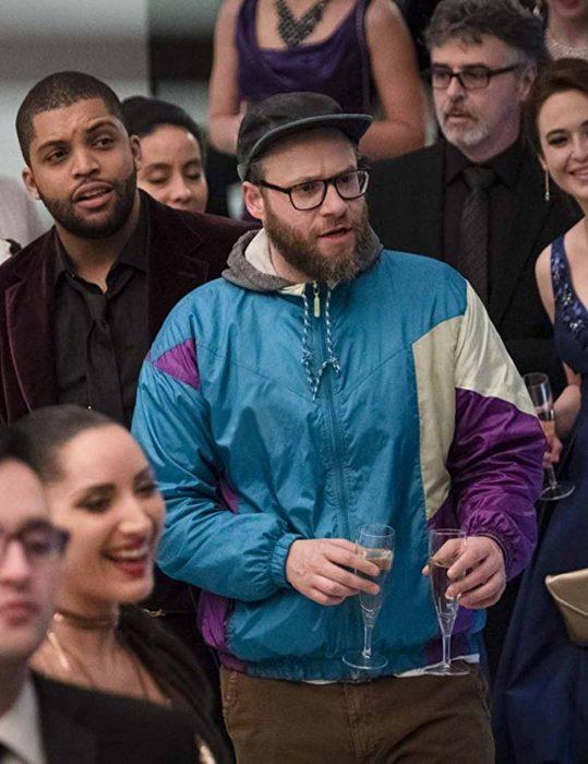 long shot fred flarsky satin jacket