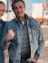 rambo last blood denim blue jacket