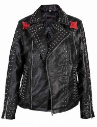 vox lux raffey cassidy studded jacket