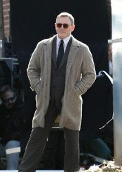 Knives Out Daniel Craig wool Coat