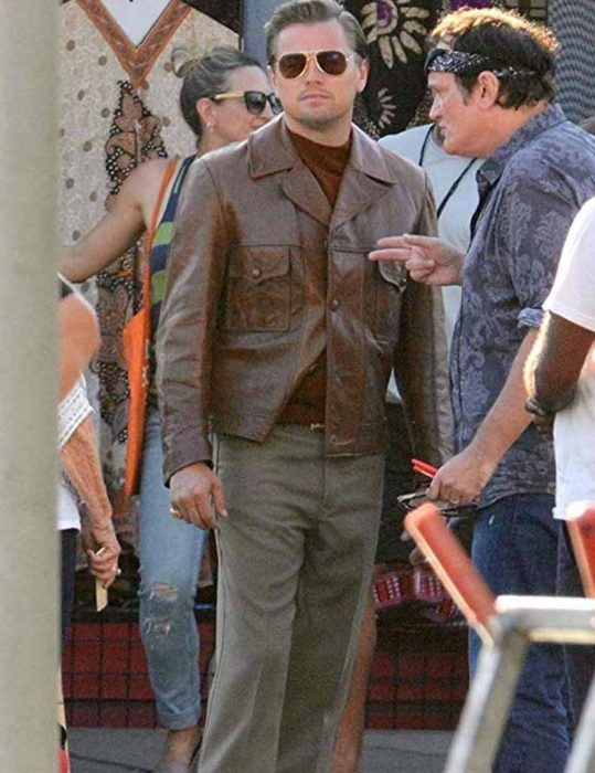 Leonardo DiCaprio Once Upon A Time In Hollywood Jacket