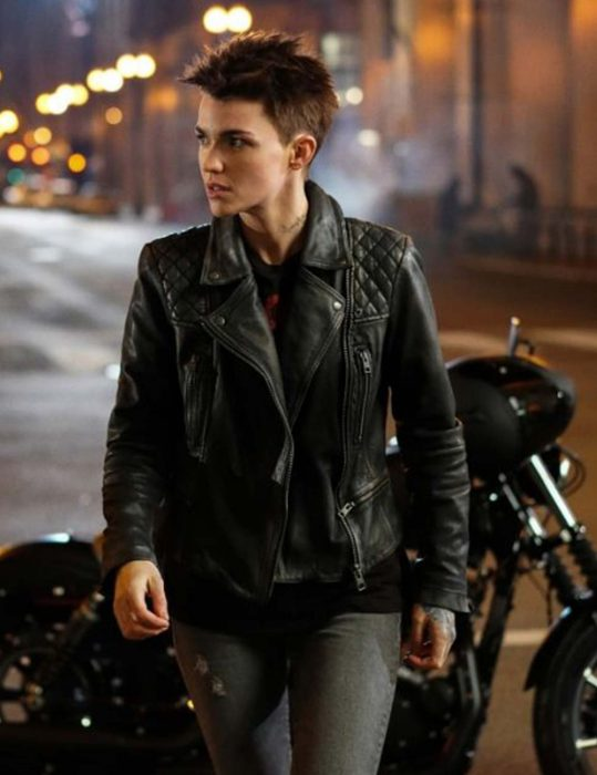 batwoman leather jacket