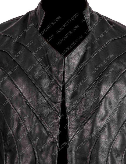 dominion tom wisdom black trench coat