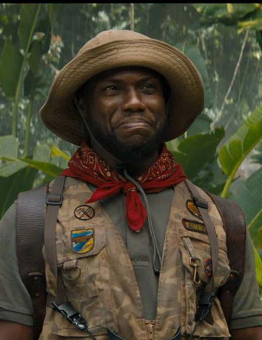 jumanji the next level kevin hart brown vest