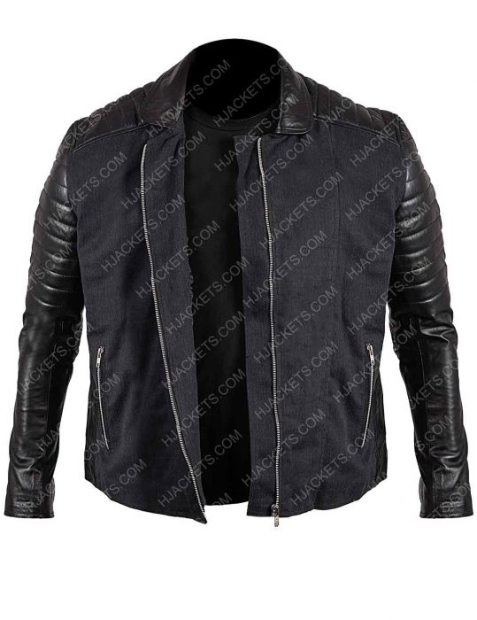 legend of tomorrow mick rory black leather jacket