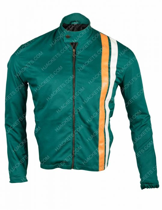 the boys hughie campbell cotton green jacket