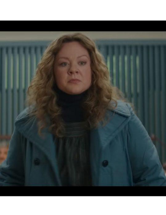 the kitchen kathy blue coat