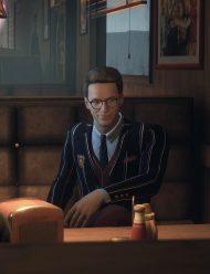 twin mirror blazer suit
