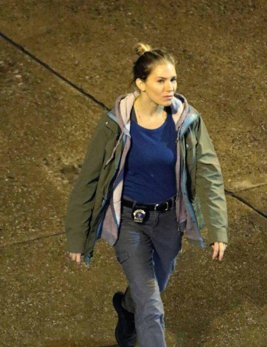 21 Bridges Sienna Miller cotton Jacket