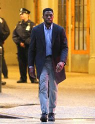 21 bridges chadwick boseman wool coat