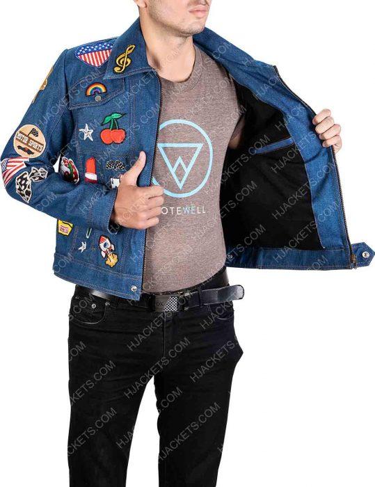 Denim Jacket worn by Rocketman Taron Egerton