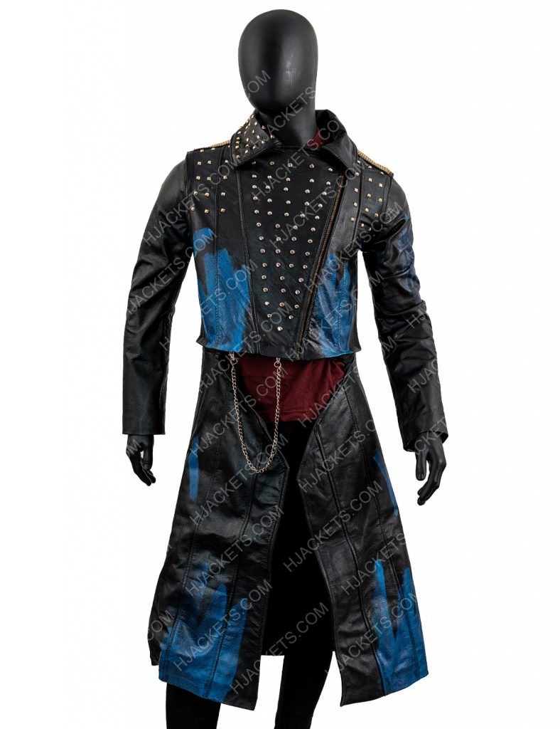 Descendants 3 Hades Leather Jacket