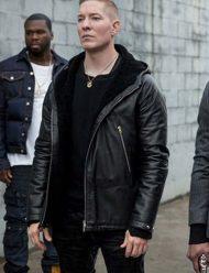 Tommy Egan Power Black Leather Jacket