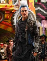 descendants3 hades leather studd jacket