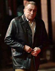 irishman frank sheeran black jacket