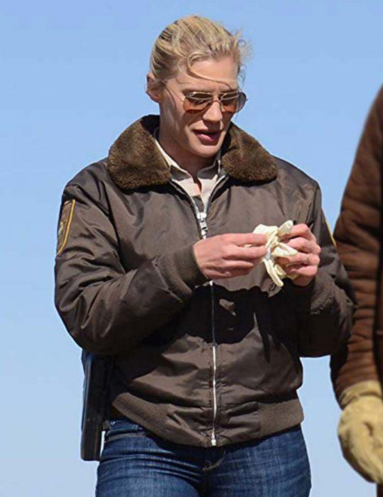 longmire katee sackhoff shearling jacket