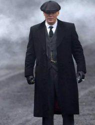 peaky blinders thomas shelby grey coat