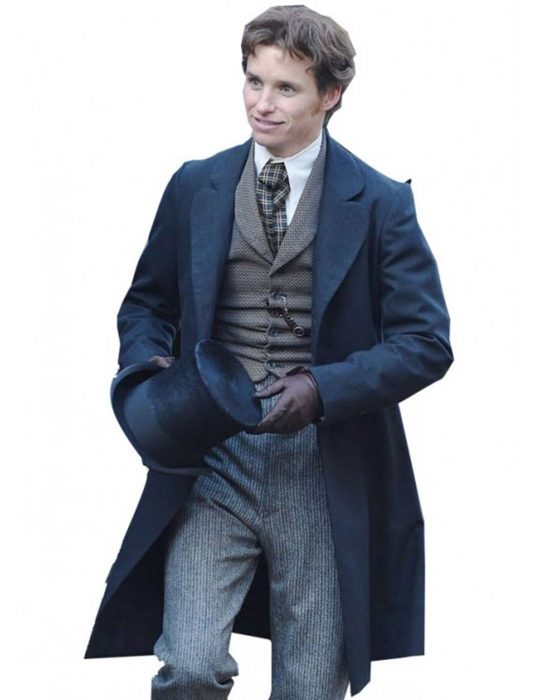 the aeronauts eddie redmayne coat