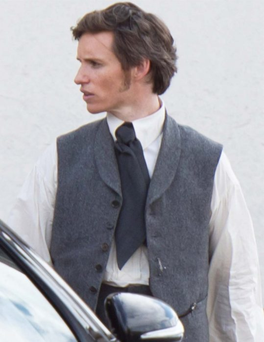 the aeronauts eddie redmayne vest