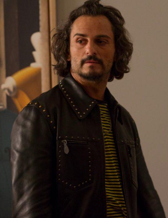 Alberto Crespo Pain and Glory Black Jacket