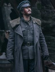 Carnival Row Orlando Bloom Grey Coat