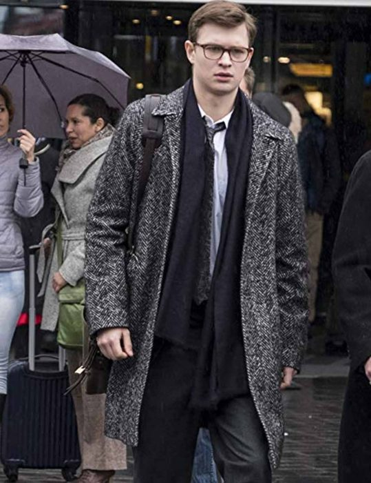 The Goldfinch Ansel Elgort Coat